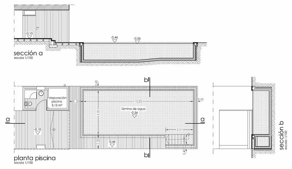 2012 ad arquitectura for Detalle constructivo piscina