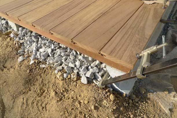 Pavimento de madera en exterior ad arquitectura - Suelos rusticos para exterior ...