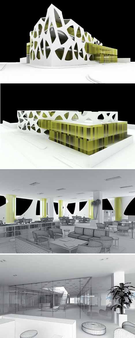 Centros Comerciales Nuevos Microscosmos Ad Arquitectura