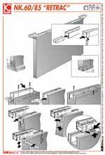 Sistema de puerta corredera empotrada en techo ad - Mecanismos de puertas correderas ...