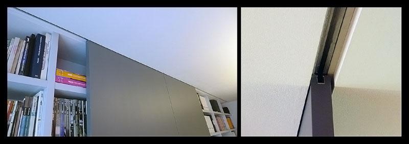 puertas correderas empotradas en techo