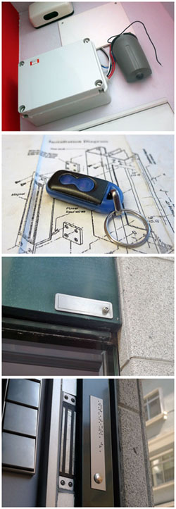 Cerradura electromagn tica apertura sin llaves ad for Cerradura sin llave