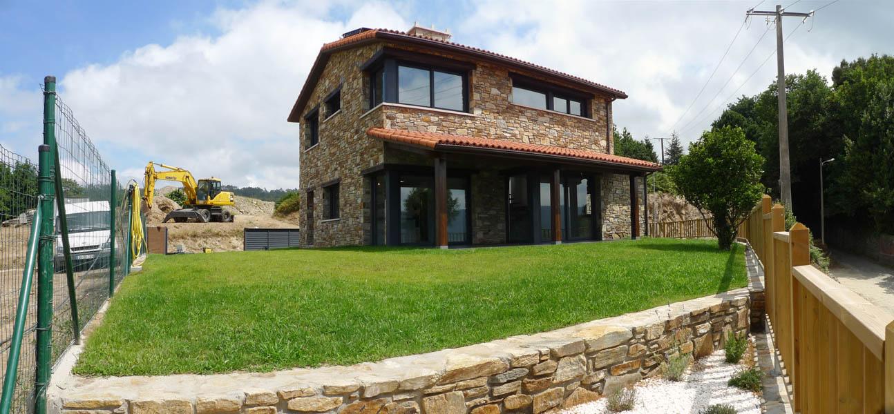 Vivienda unifamiliar ad arquitectura - Fachadas viviendas unifamiliares ...