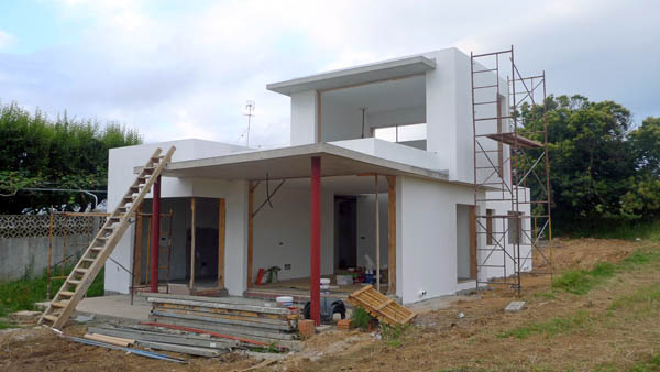 Construcci n ad arquitectura p gina 2 for Pintura para pared exterior