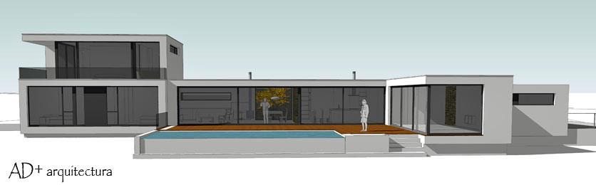 Vivienda moderna ad arquitectura for Viviendas unifamiliares modernas