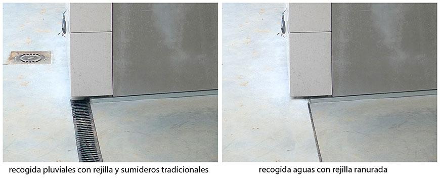 Ventajas de las rejillas ranuradas en la recogida de aguas - Recogida aguas pluviales ...