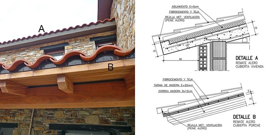 Tecnolog a ad arquitectura - Tipos de tejados para casas ...