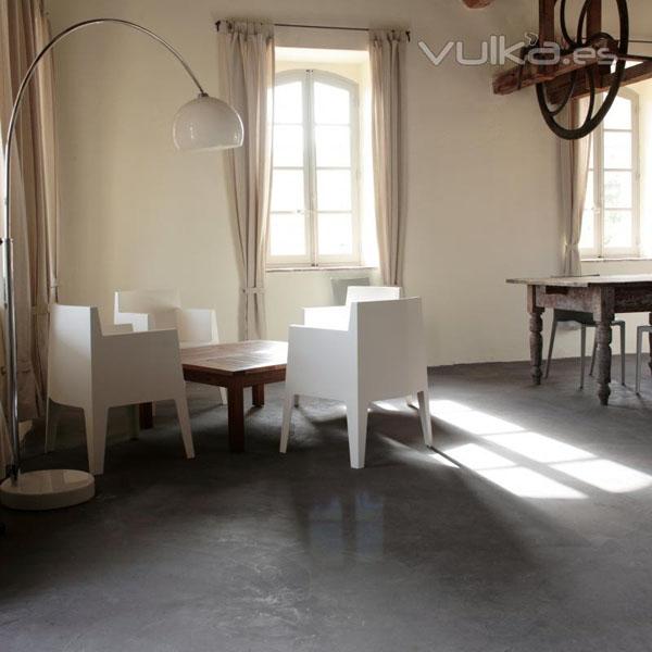 Pavimentos continuos hormig n pulido mortero for Suelos de cemento para interiores